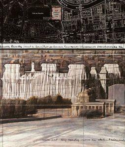 Reichstag XX by Javacheff Christo