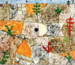 Suedliche Gaerten, 1936,5 by Paul Klee