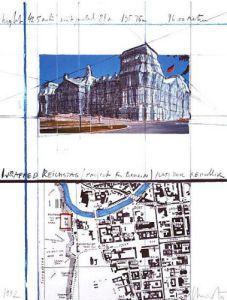 Reichstag XXI by Javacheff Christo
