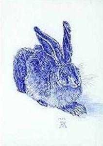 Blue Hare by Albrecht Dürer