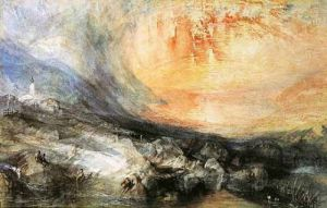 Goldau, 1834 by Joseph Mallord William Turner