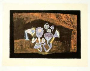 Höhlenblüten, 1926 by Paul Klee