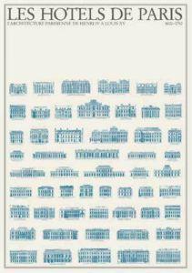 Les Hôtels de Paris by Architekturplakate