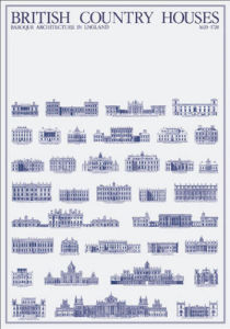 British Country Houses by Architekturplakate