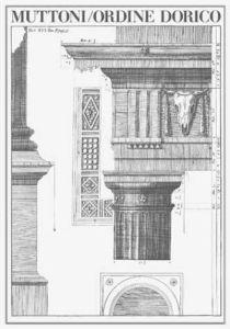 Ordine Dorico by Muttoni