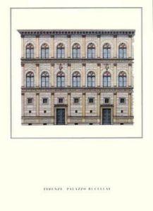 Florence - Palazzo Rucellai by Architekturplakate