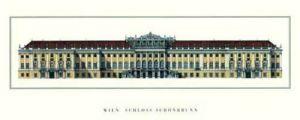 Vienna - Schloß Schönbrunn by Architekturplakate