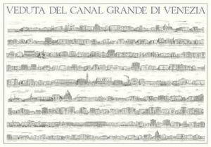 Venice - Veduta del Canal Grande di Venezia by Architekturplakate