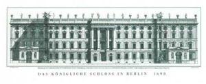 Das königliche Schloß in Berlin by Andreas Schlüter
