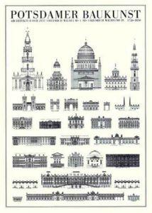 Potsdam - Potsdamer Baukunst by Architekturplakate