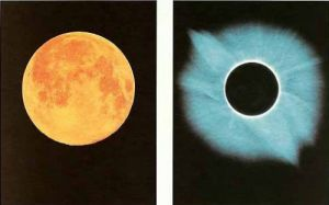 Full Moon - Total Solar Eclipse 11.07.1991 by Shigemi Numazawa