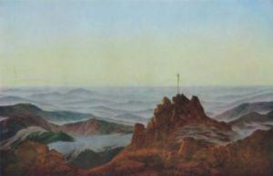 Morgen im Riesengebirge by Caspar David Friedrich