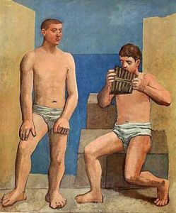 The Panpipes, 1923 by Pablo Picasso