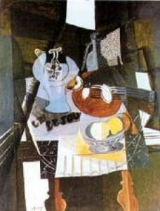 Nature Morte au Compotier by Georges Braque