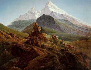 Der Watzmann by Caspar David Friedrich