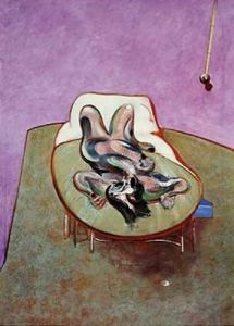 Reclining Figure, 1966 by Francis Bacon