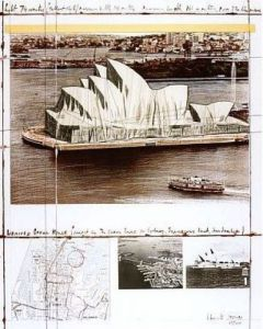 Wrapped Opera House (Sydney) by Javacheff Christo