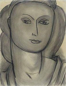 Madame L.B. (Lucienne Bernard), 1946 by Henri Matisse
