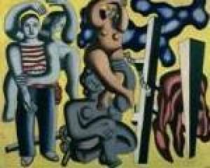 Les perroquets, 1933 by Fernand Leger