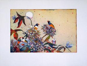 Im Mondgarten by Jutta Votteler