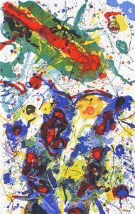 Untitled 1989 by Sam Francis