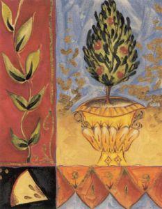 Topiary Treasures II by Liz Jardine