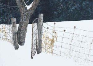 Maple Leaf Fence by Robert Bateman