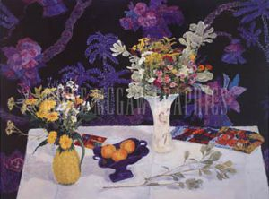 Late Summer Still Life by Geraldine Girvan