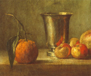 Seville Orange by Jean Baptiste Chardin
