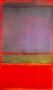 No. 6 (Violet, Green, & Red), 1951 by Mark Rothko