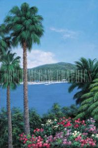Tropical View by Diane Romanello