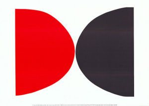 Red, Black and White, 1967 by Sir Terry Frost RA