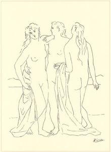 Trois Nus by Pablo Picasso