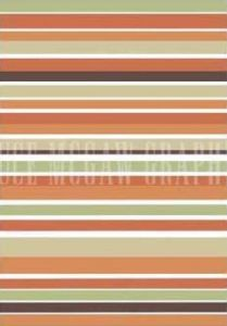 Terracotta Stripes by Denise Duplock
