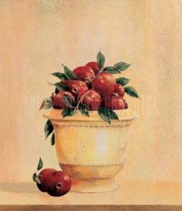 Pomegranates by Hampton Hall