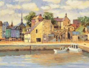 Honfleur I by Max Hayslette