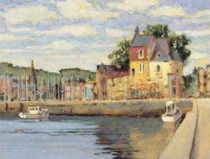 Honfleur II by Max Hayslette