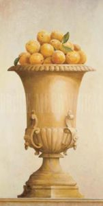 Oranges in a Vase by Hampton Hall