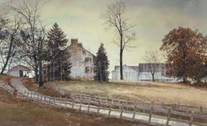 Late October by Ray Hendershot