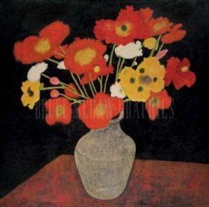 Poppy Bouquet by Beverly Jean