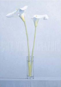Two Calla Lilies by James Moore