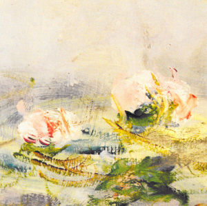 Waterlily Pond, 1908 (Detail) by Claude Monet