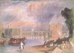 Bridge of Meulan by Joseph Mallord William Turner