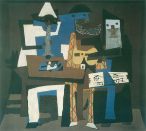 Three Musicians, 1921 by Pablo Picasso