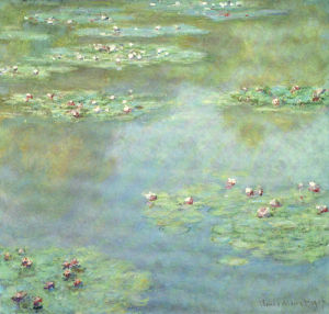 Water Lilies (II), 1907 by Claude Monet