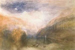 The Lauerzersee, with the Mythens by Joseph Mallord William Turner