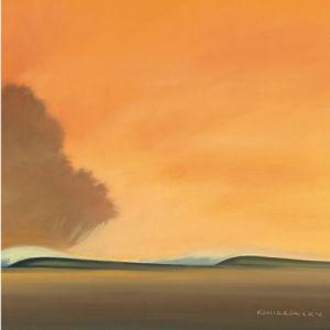 Under a Red Sky II by Koniakowsky