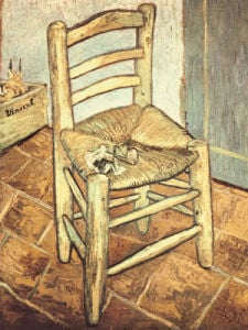 Van Gogh's Chair by Vincent Van Gogh