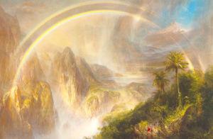Rainy Season in the Tropics, 1866 by Church