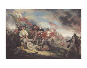 The Death of General Warren at the Battle of Bunker's Hill, 17 June 1775 by John Trumbull